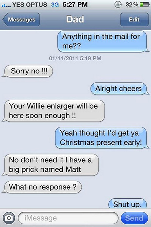 funny texts from dad 26 pics