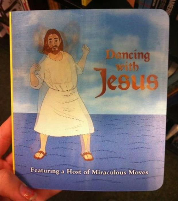 funny dancing with Jesus