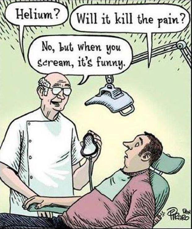 funny dentist office visits