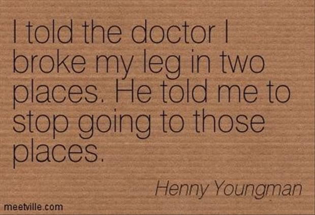funny doctor jokes
