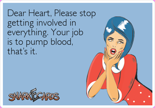 funny heart problems
