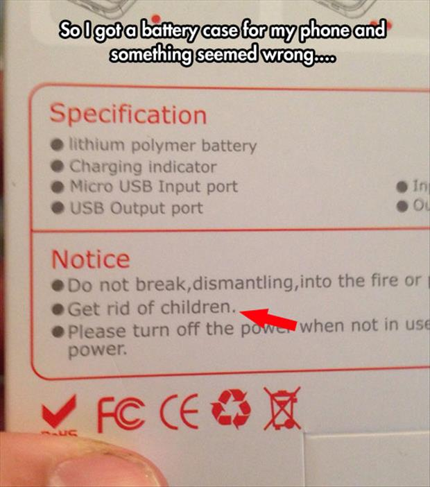 funny instructions