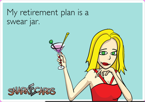 funny retirement plans
