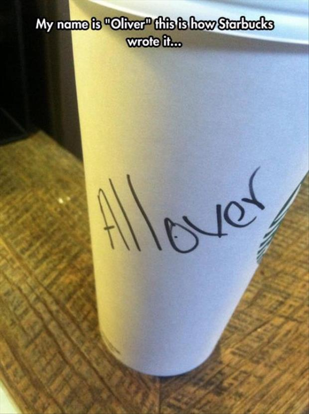 funny starbucks cups