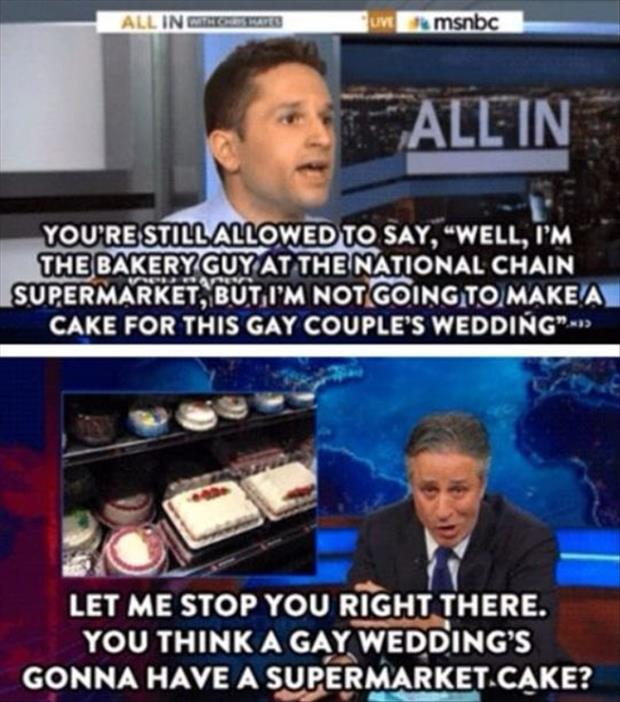 gay wedding cake funny