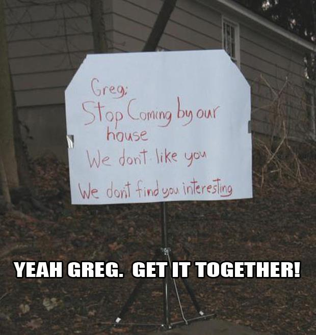 greg funny notes