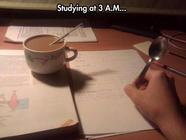 how to study all night