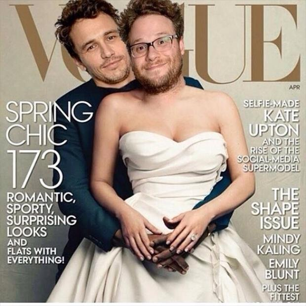 james franco on the cover of a magazine