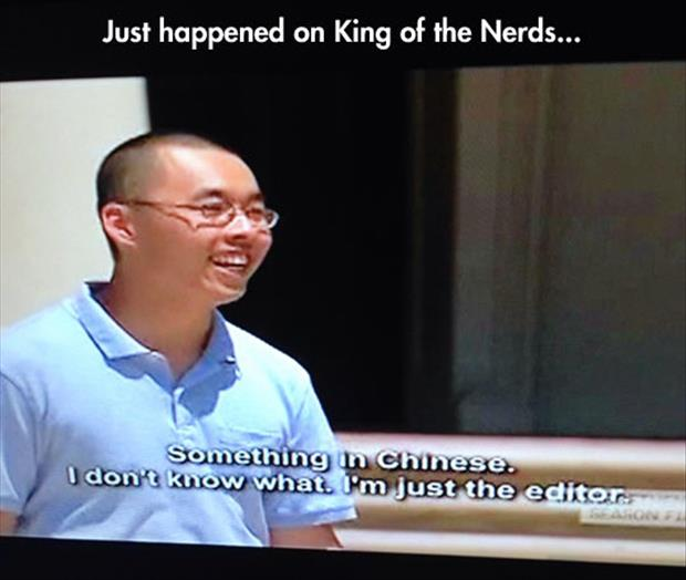 king of nerds funny