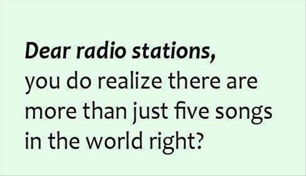 notes to radio stations
