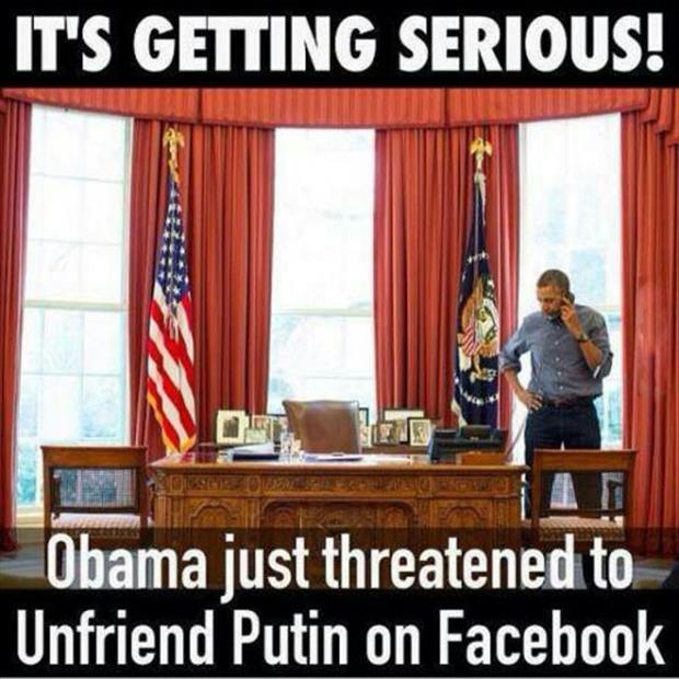 obama unfriended putin on facebook