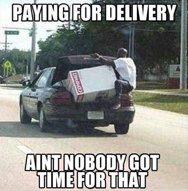 pay for delivery