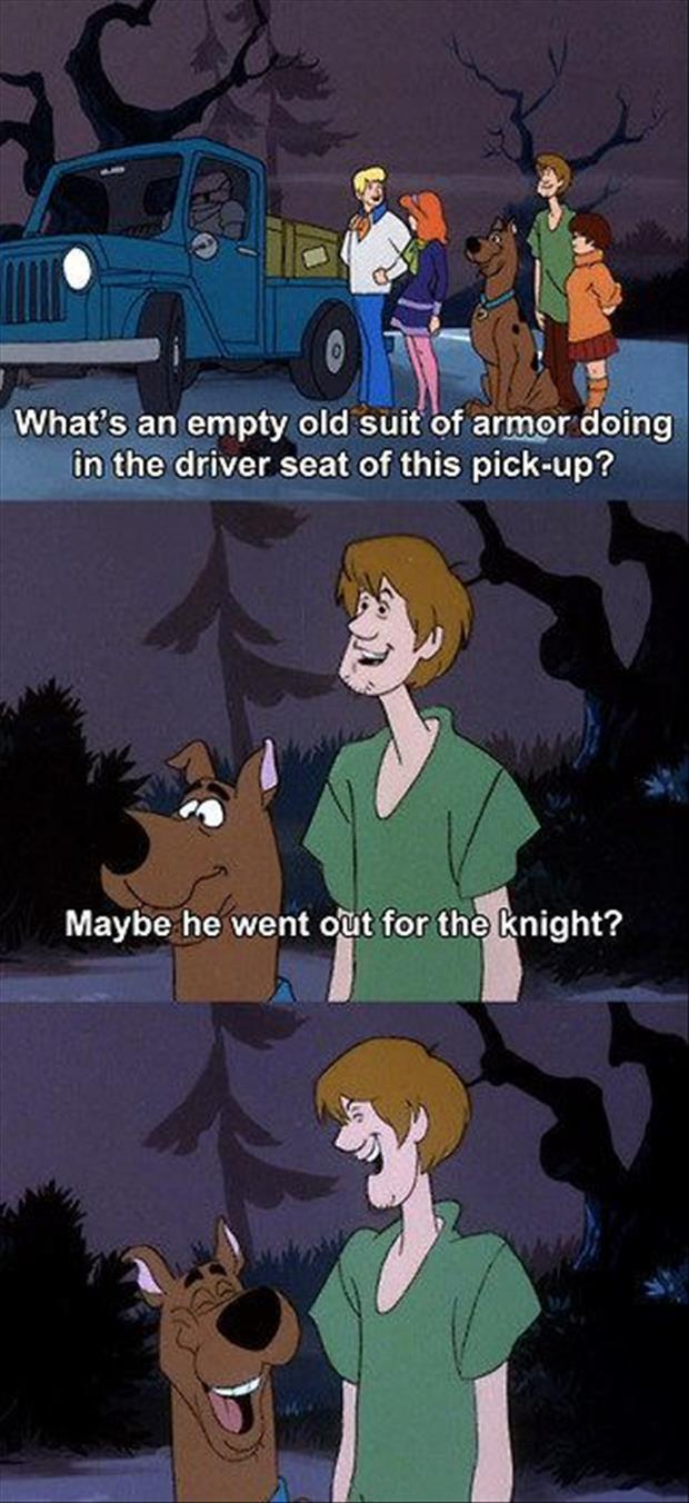 scooby doo funny captions