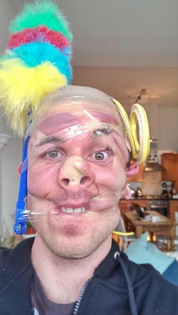 scotch tape on heads (2)