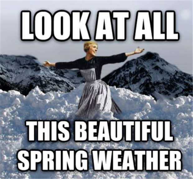 spring weather