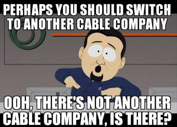 switch to a new cable company