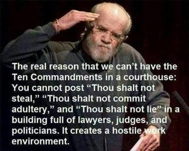 ten commandments in the courthouse