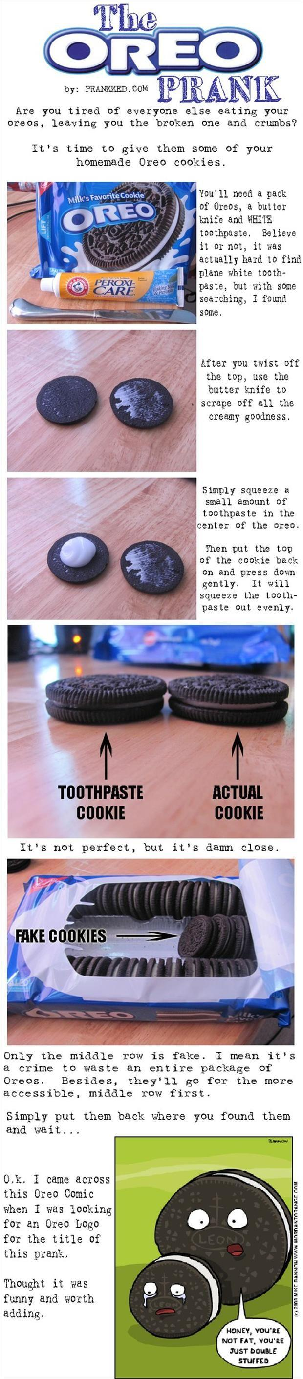 the oreo april fools day prank