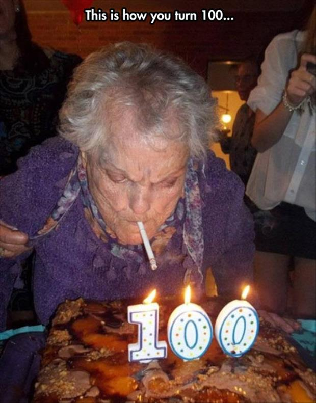 this is how you turn 100 years old