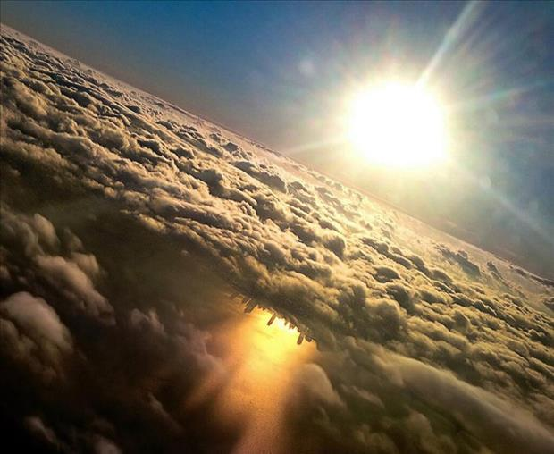 this is why you choose a window seat (1)
