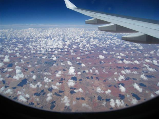 this is why you choose a window seat (2)