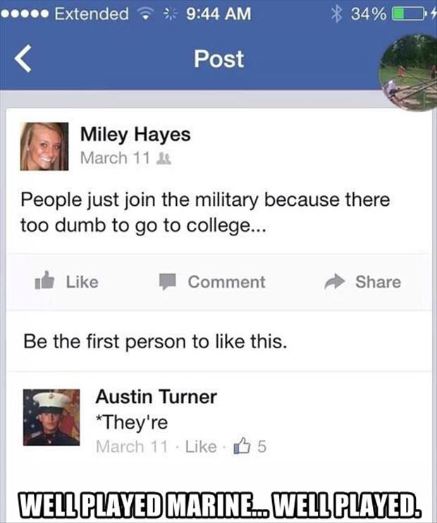 well played marine