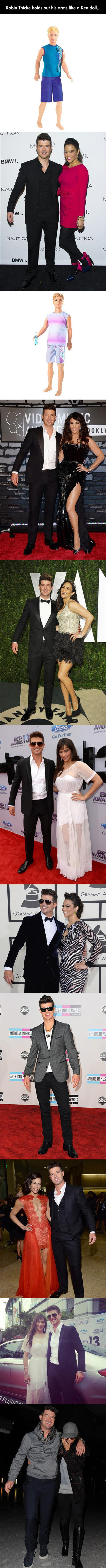 z robin thicke funny pictures
