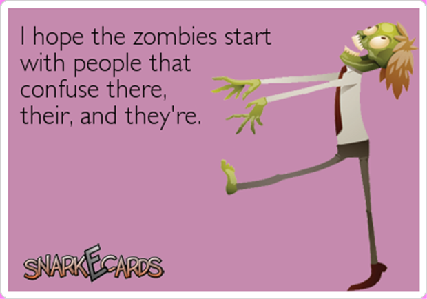 zombies funny quotes