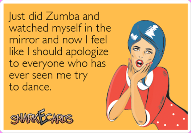 zumba funny workout