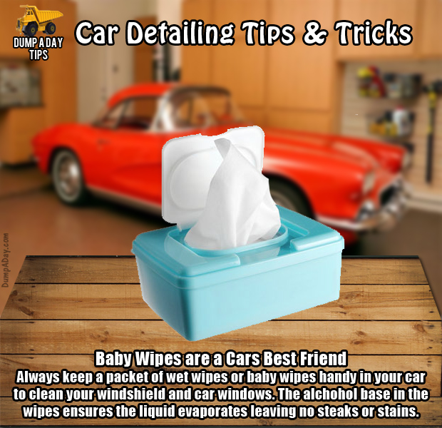 dump car detailing tips baby wipes dump a day. Black Bedroom Furniture Sets. Home Design Ideas
