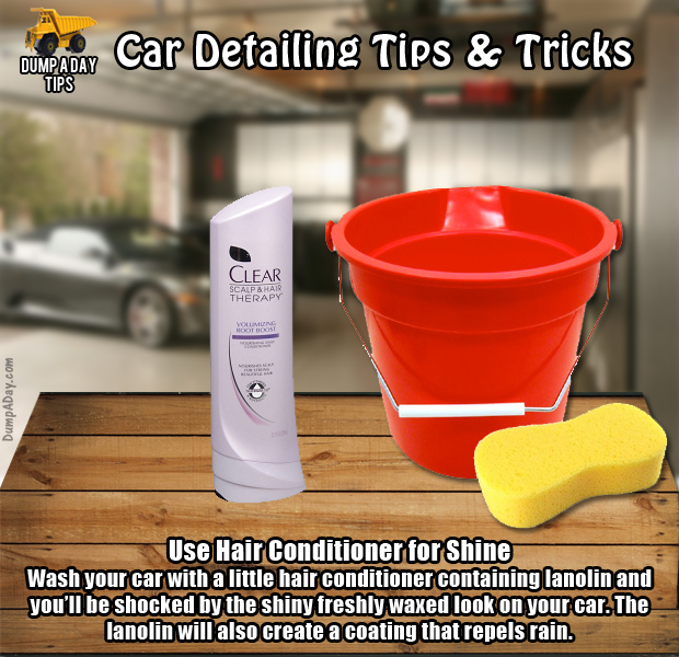 Dump Car Detailing Tips conditioner - Dump A Day