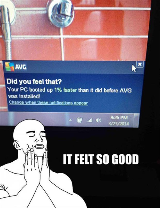 did you feel that
