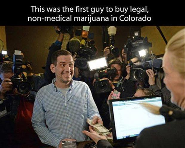 first guy to buy marijuana legally in colorado