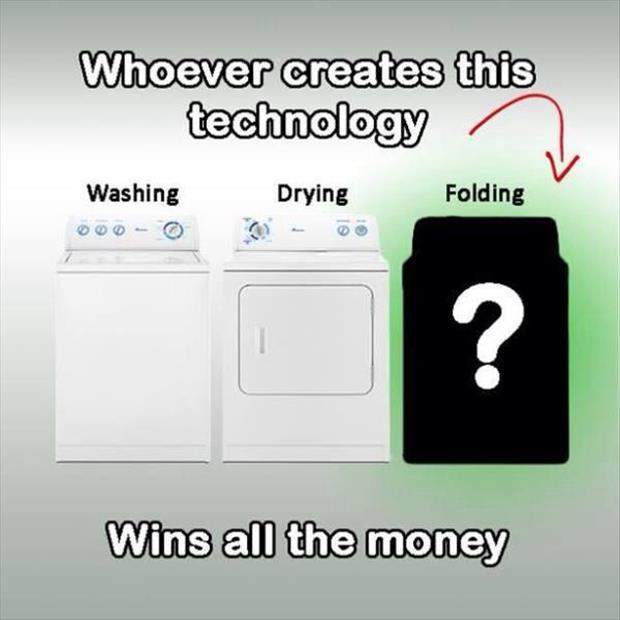 folding machine for laundry