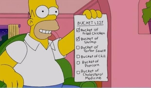 funny bucket lists