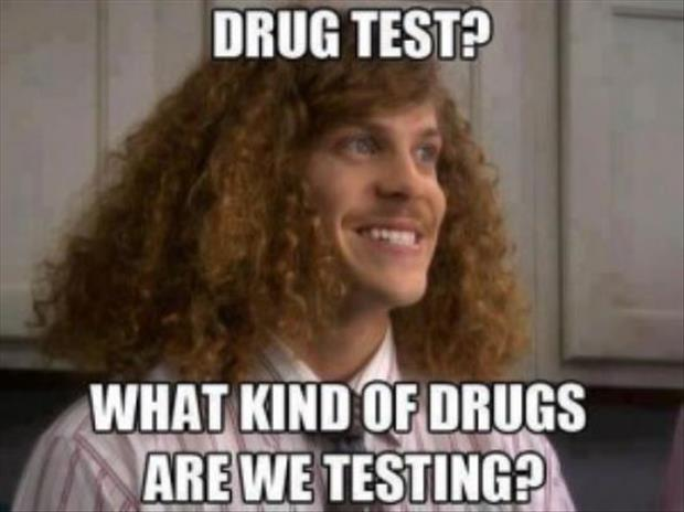 funny drug tests