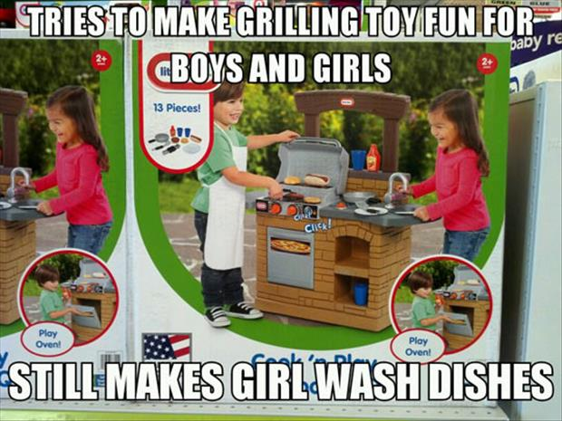 girls wash the dishes