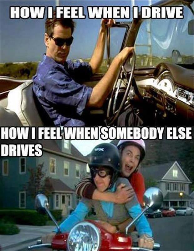 how I feel when i drive