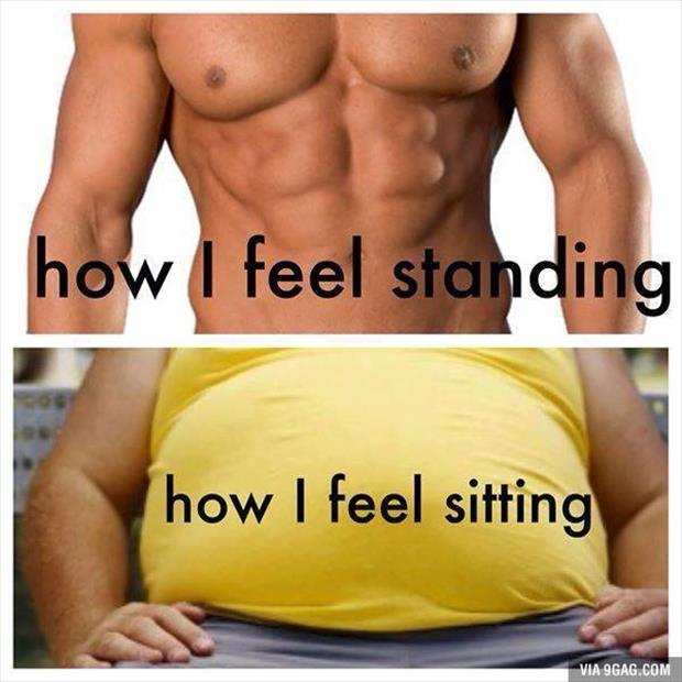 how i feel when I'm standing