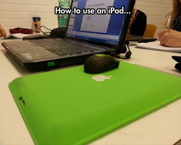 how to use an ipad
