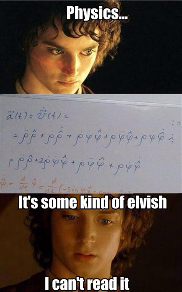 it's some form of elvish