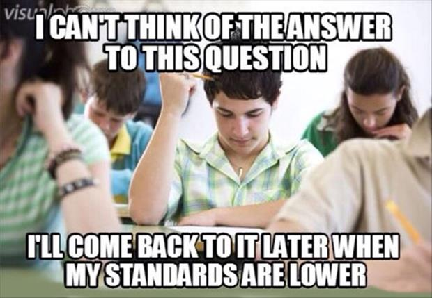 lowering the standards in schools
