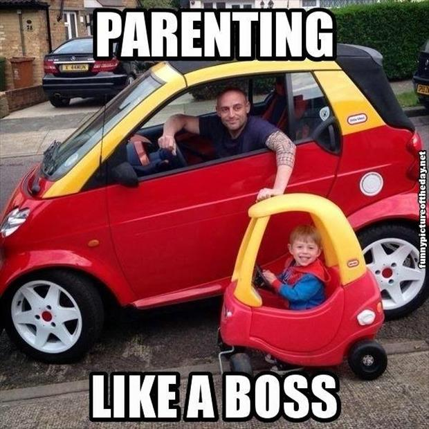 parenting like a boss