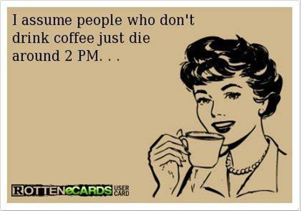 people who don't drink coffee