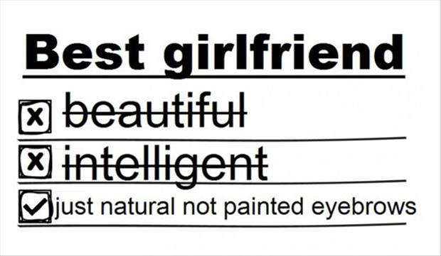 qualities in a girlfriend