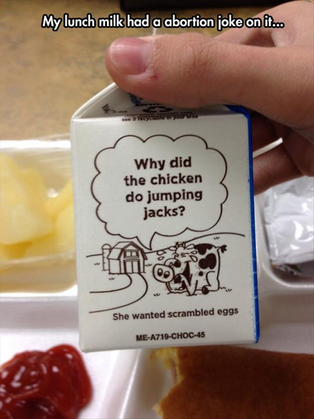 school milk carton jokes