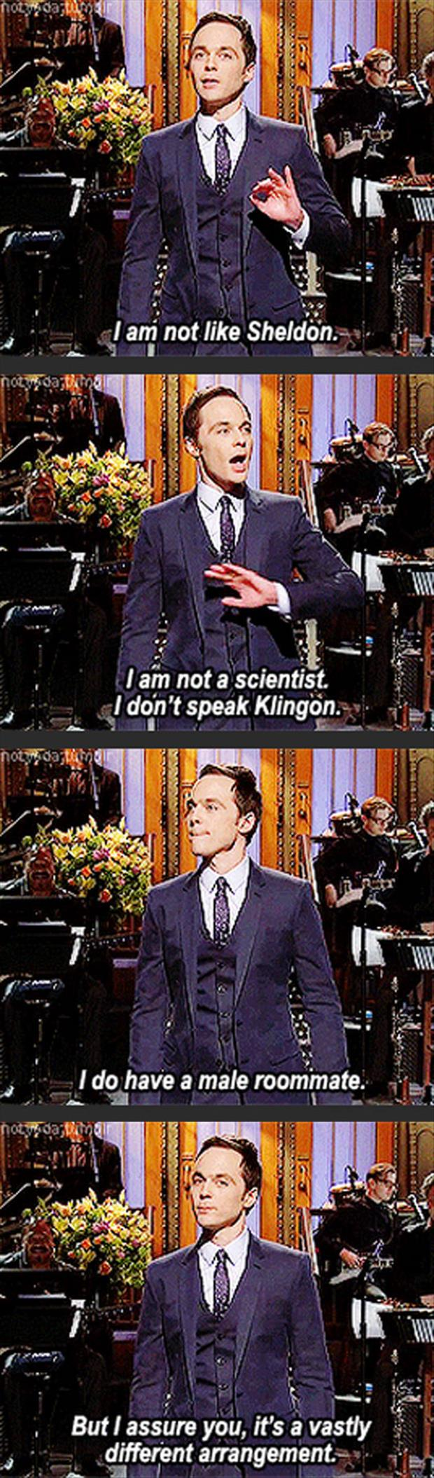 sheldon cooper of big bang