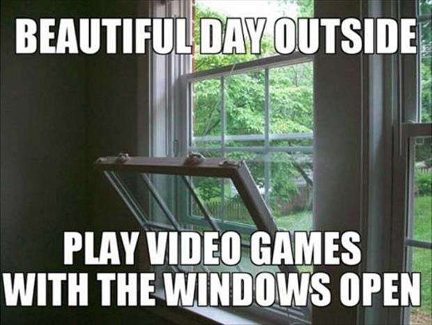 such a nice day outside