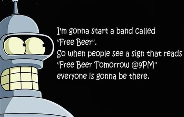 the band call free beer