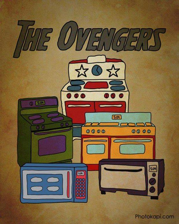 the ovengers funny